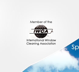 Member of the IWCA: International Window Cleaning Association
